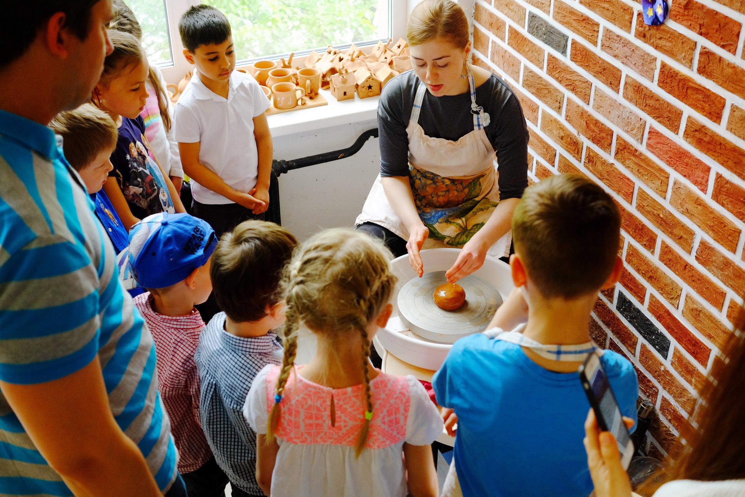 мастер-класс для группы детей