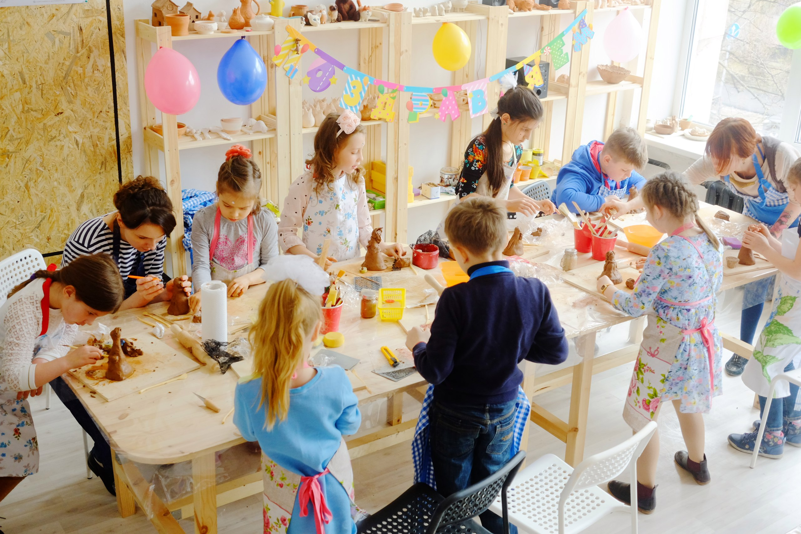творческий детский праздник
