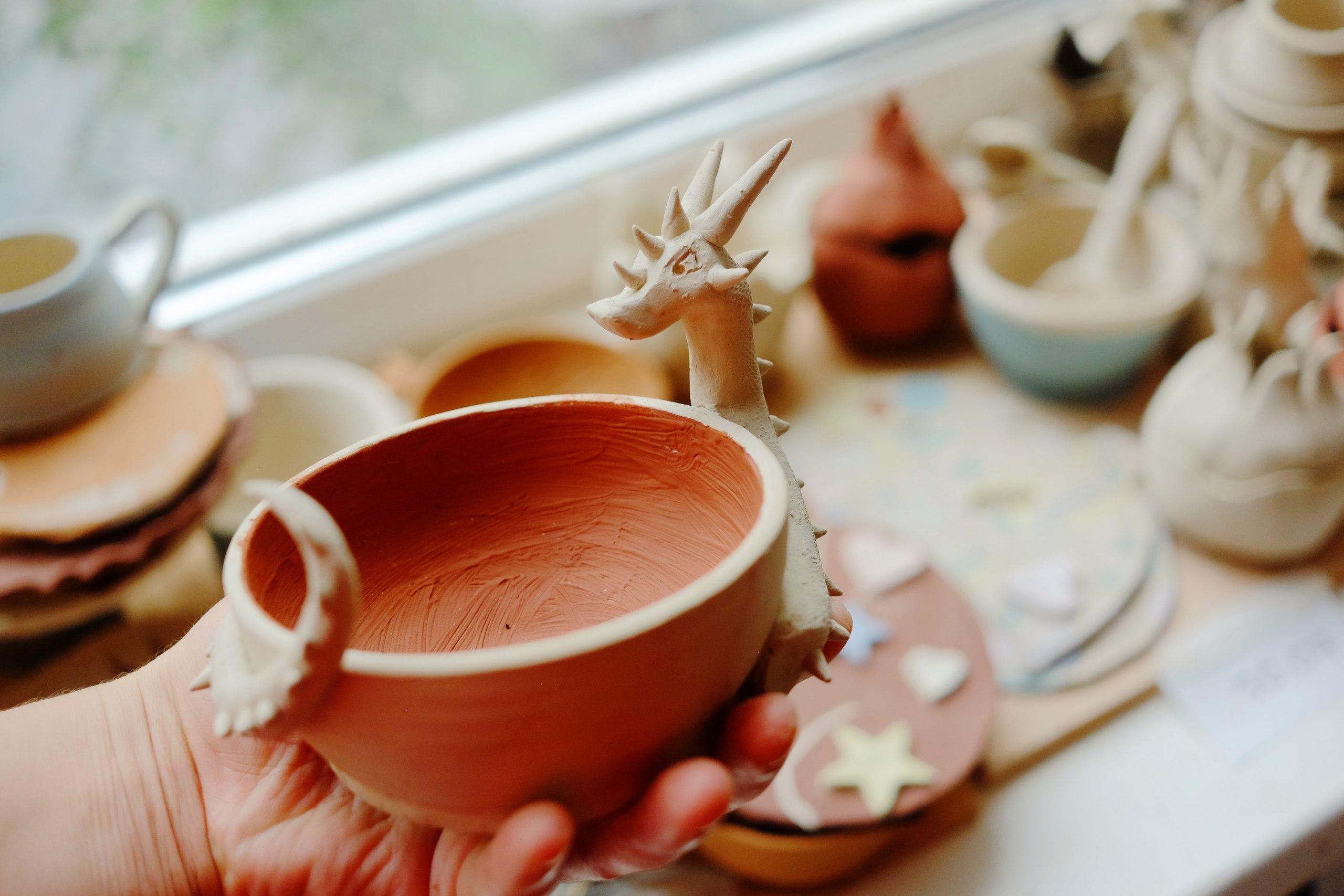 чашка-дракон