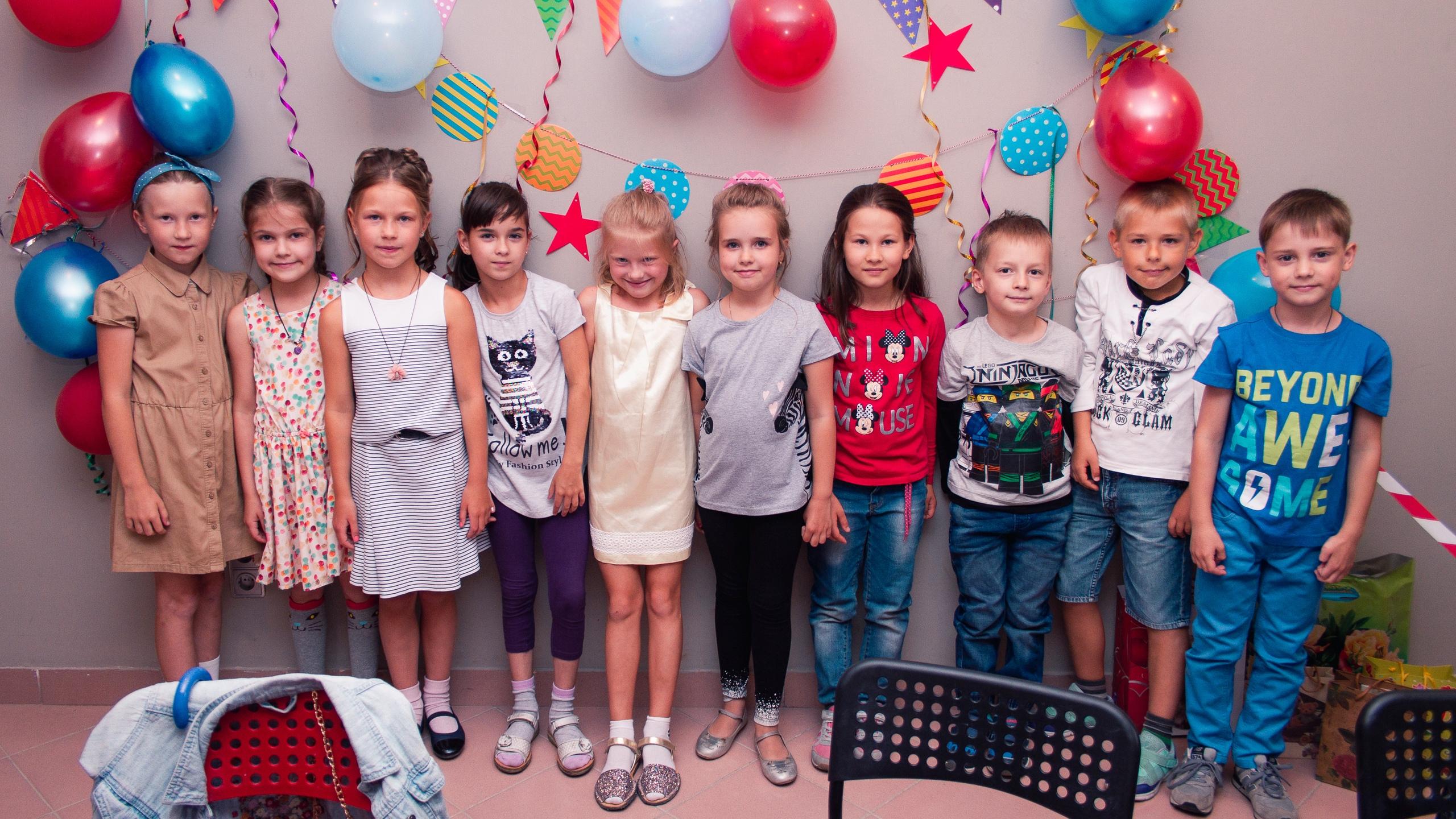 детский праздник в гончарной студии